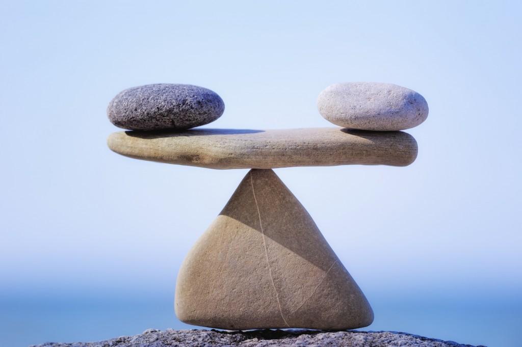 Un ejercicio de equilibrio