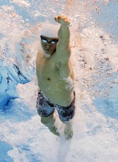 La fórmula de la velocidad en natación