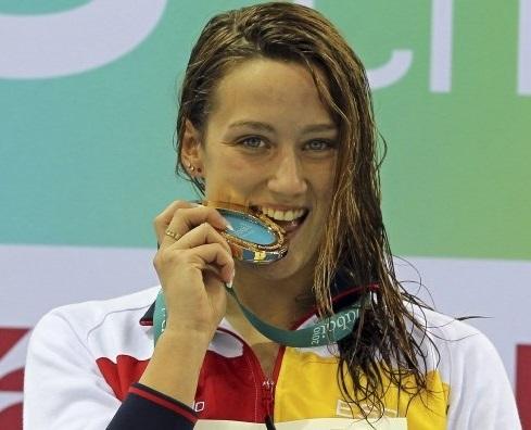 La natación, el deporte de la mujer