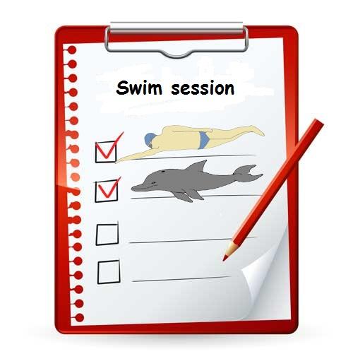 Práctica de natación hidrodinámica