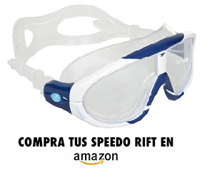 3760f10468 Terry Laughlin, fundador de Total Immersion habitualmente usa unas  Aquasphere Seal, las Speedo Rift es también otro modelo que se encuentra  fácilmente.