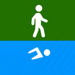 Primeros  pasos en natación