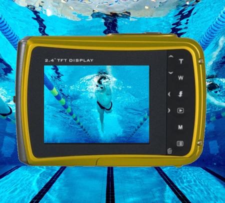 Cámaras de vídeo sumergibles para natación