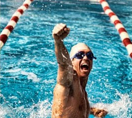 Nadar… ¿Para relajarse o para competir?