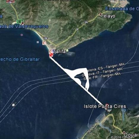 Cómo cruzar el Estrecho de Gibraltar a nado