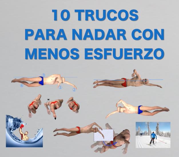 10 Trucos para nadar mejor sin esforzarte más