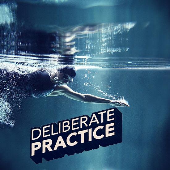 La práctica deliberada de la natación