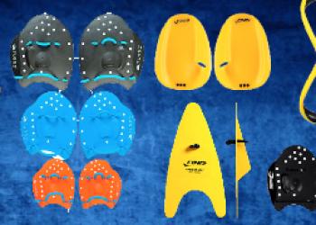 Cómo usar las palas de natacion