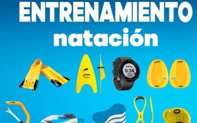Material básico de entrenamiento de natación