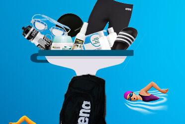 Lo más básico que has de llevar en tu mochila de natación