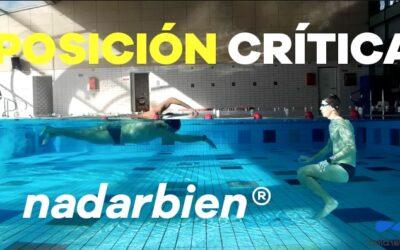 La posición crítica en natación
